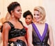 If you squint, you can see Janelle Monae behind Dianna Agron and Gabrielle Union.