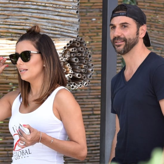 Eva Longoria and Jose Antonio Baston in Marbella, Spain 2016
