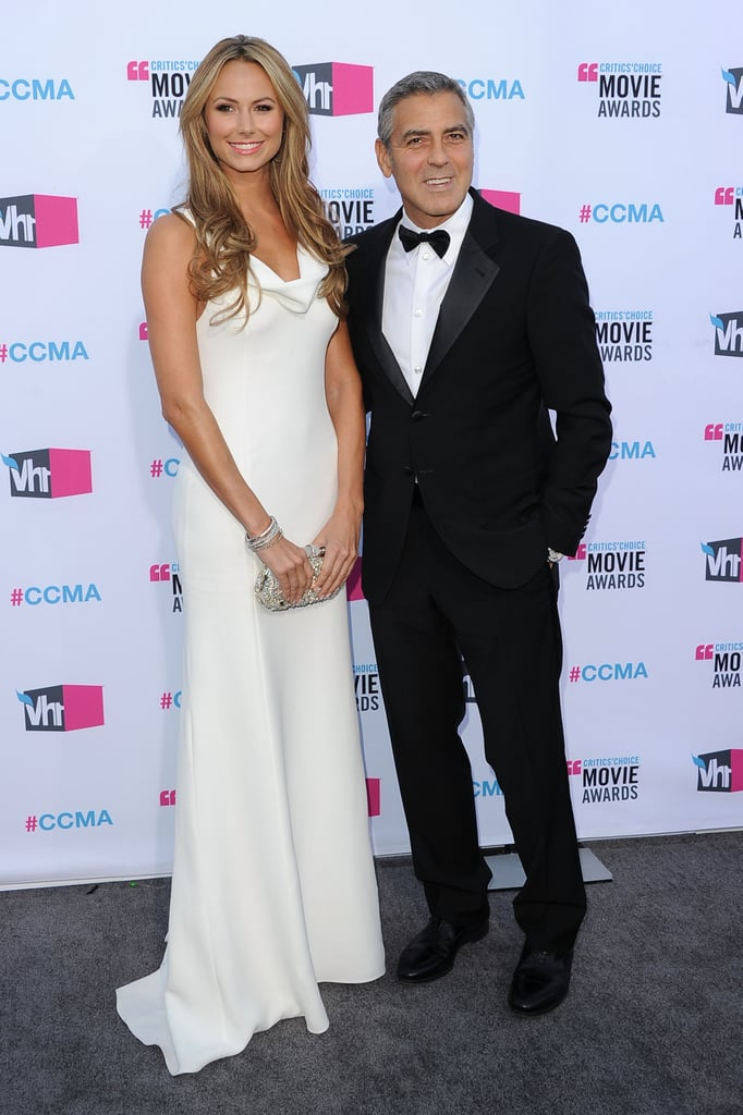 Stacy Keibler and George Clooney were together in LA.