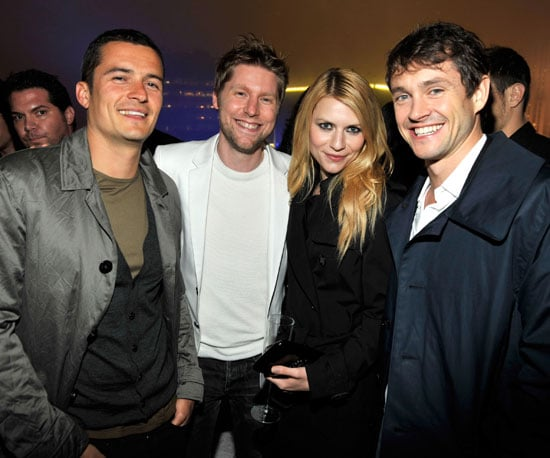 Slide of Orlando Bloom, Claire Danes, Hugh Dancy At Burberry Party in NYC