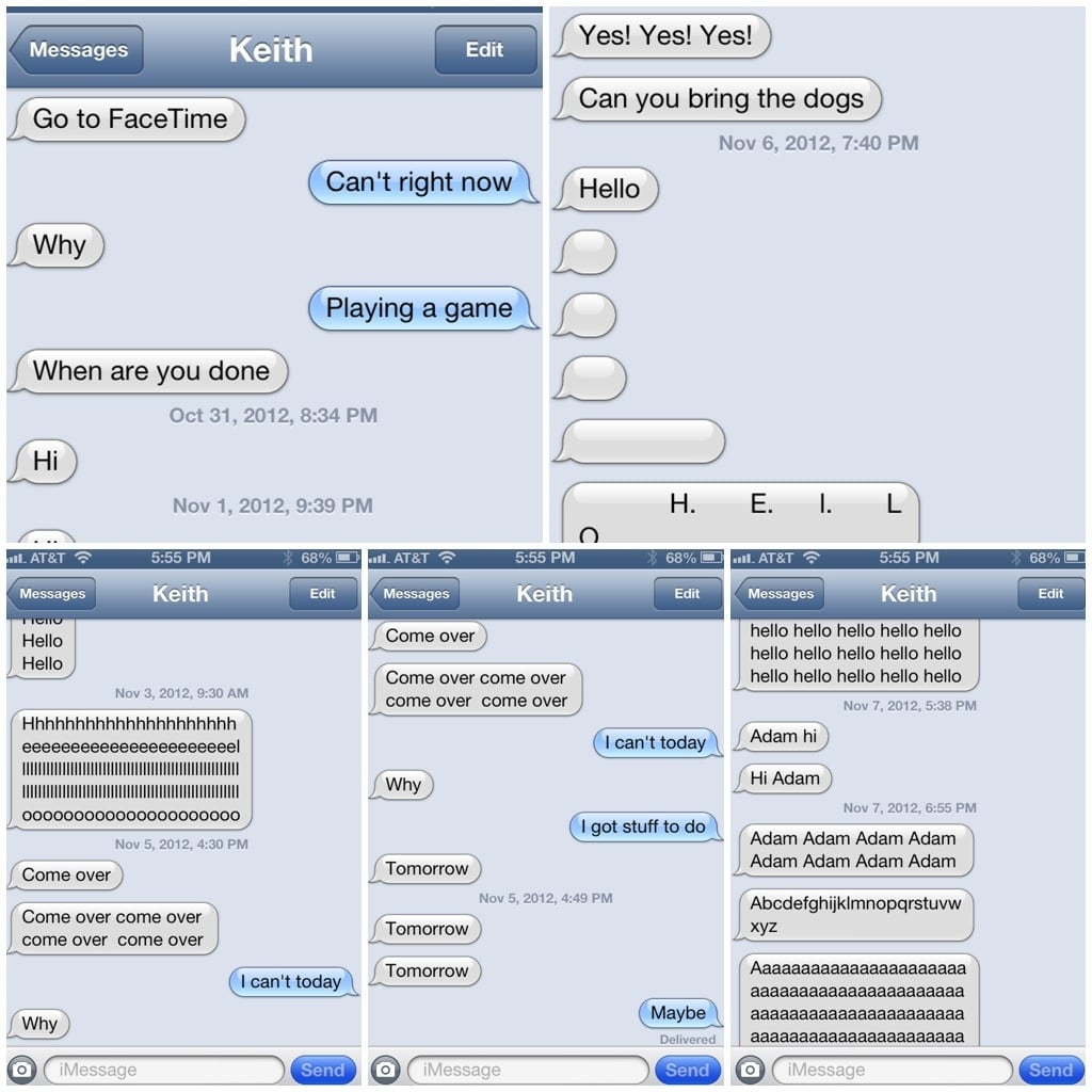 The Person Who Taught Their 9-Year-Old Nephew How to Text