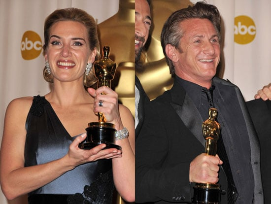 From the Press Room: Kate Winslet and Sean Penn