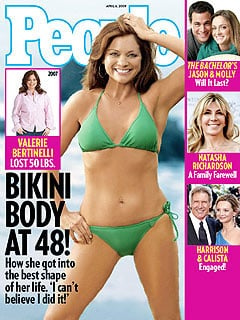 Valerie Bertinelli Poses on the Cover of People in Her Bikini