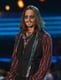 Johnny Depp sported shades during the Grammy Awards.