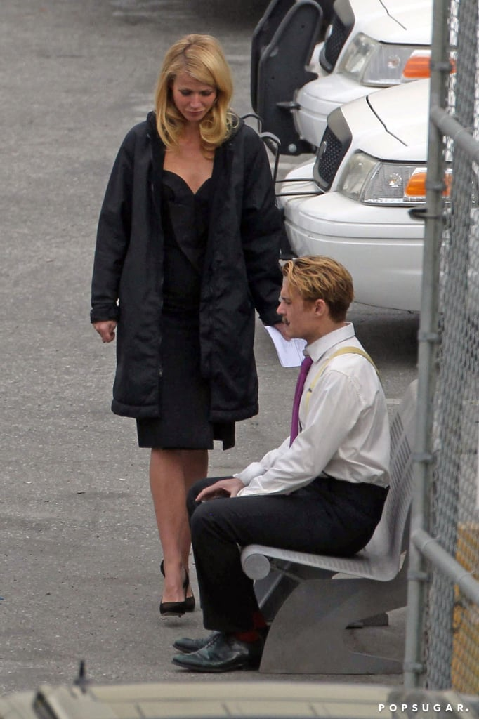 Gwyneth and Johnny looked like they were rehearsing a scene together.