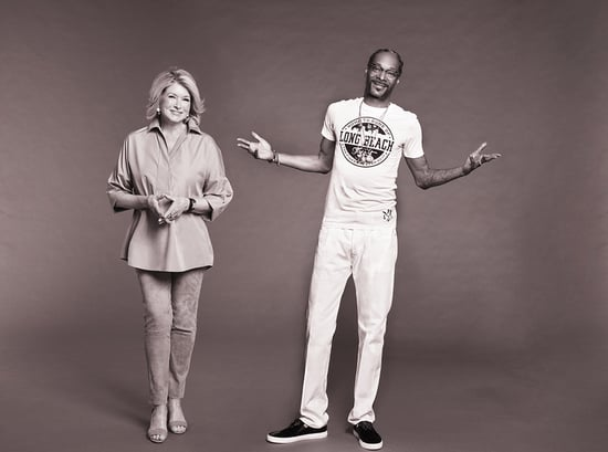 Martha Stewart and Snoop Dogg to Co-Host a 'Half-Baked' Celebrity Cooking Show