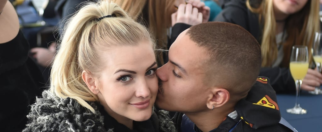 Evan Ross Can't Stop Kissing Ashlee Simpson During Their Ski Trip
