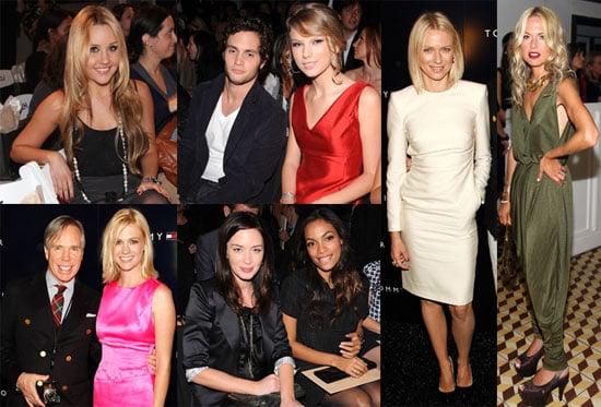 Photos of Naomi Watts, Amanda Bynes, Thandie Newton, Jared Leto, Anna Wintour, and Rosario Dawson at NYFW
