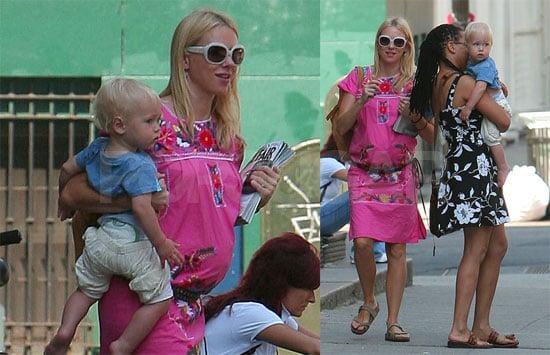 Photos of Pregnant Naomi Watts and Alexander Schreiber in Manhattan