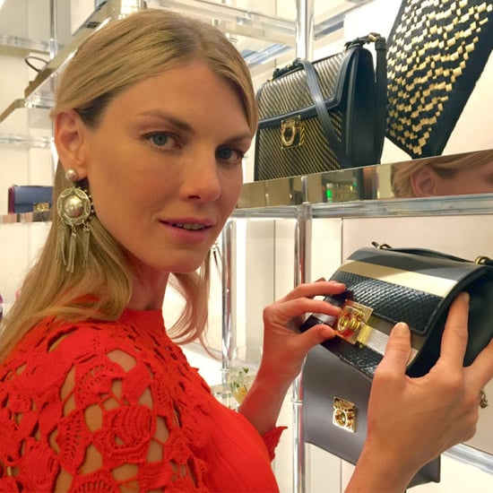 Angela Lindvall Takes Us Inside Ferragamo's LA Event