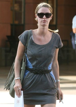 Photo of Nicky Hilton Wearing Rope Belt While Shopping in LA