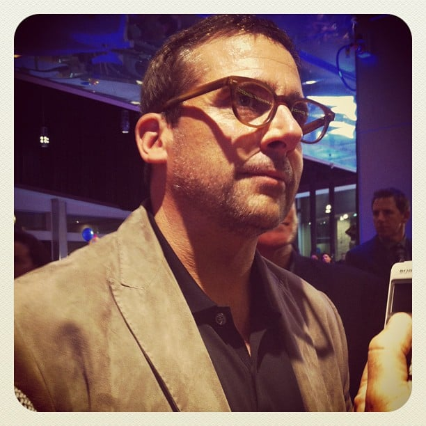 It's Steve Carrell! He's a major star, but he was happy to let the Minions from Despicable Me 2 steal all the attention away at the film's premiere during the week.