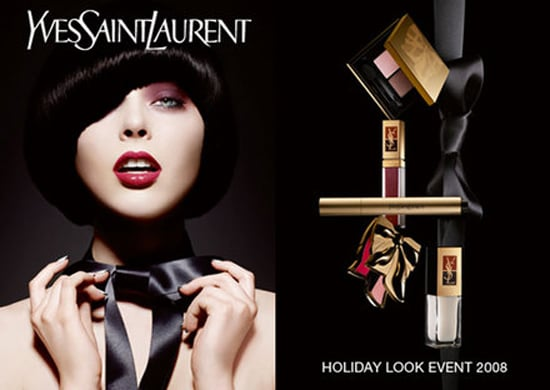 YSL Beauty Holiday 2008 Christmas Bow Collection