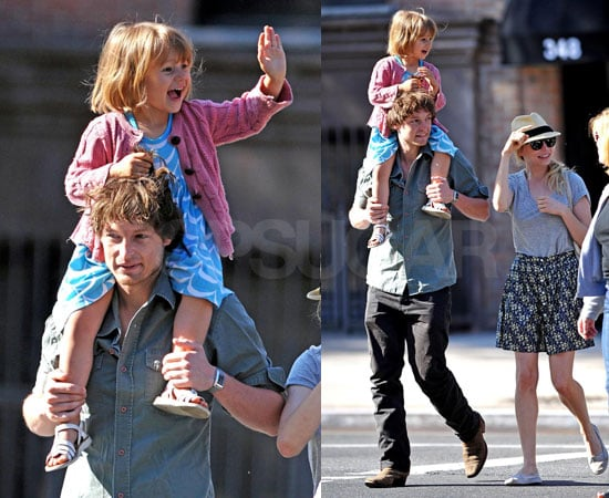 Photos of Michelle Williams and Matilda Ledger Taking a Walk in NYC