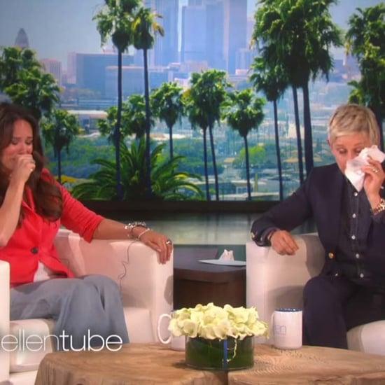 Ellen DeGeneres Cries on Show With Teacher
