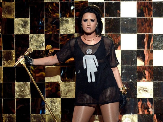 Demi Lovato Stands Against N.C. 'Bathroom Bill' in Special T-Shirt at the Billboard Music Awards