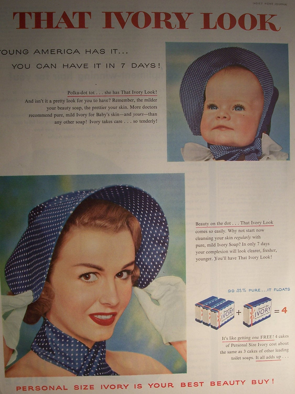 1955 Ivory Soap Ad