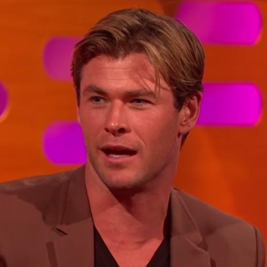 Chris Hemsworth on The Graham Norton Show December 2015