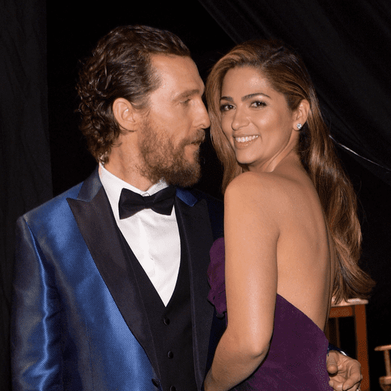 Matthew McConaughey and Camila Alves Red Carpet Style