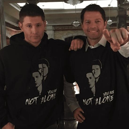 Jensen Ackles and Misha Collins Start Crisis Hotline (Video)