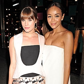 Ashley Madekwe at the Dior Saks Fifth Avenue Party   Video