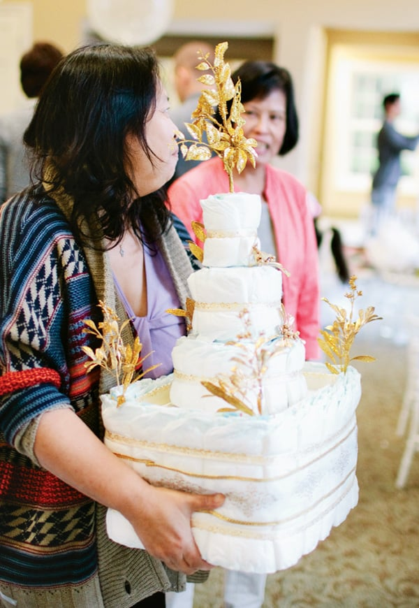 Sparkly Tiered Confection