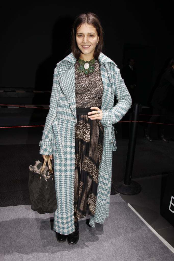 Margherita Missoni showed off her signature brand of eclectic prints and quirky styling at Giambattista Valli.