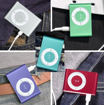 Which New Shuffle Color Do You Like Best?