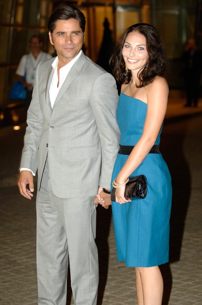 John Stamos brought a guest to Howard Stern and Beth Ostrosky's wedding in NYC in October 2008.
