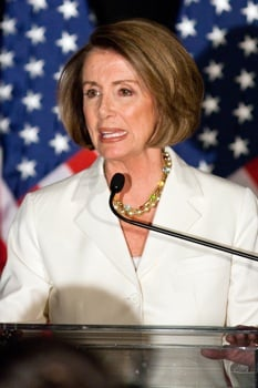Nancy Pelosi in New York Times Magazine