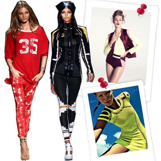 Sporty Chic Spring 2012 Trend