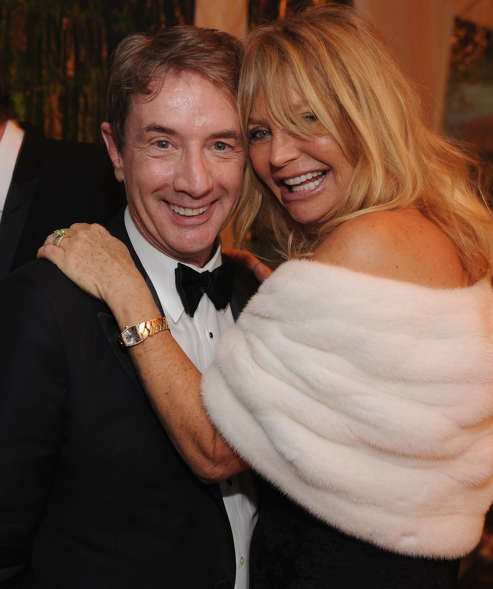 Goldie Hawn And Martin Short Got Together For A Photo