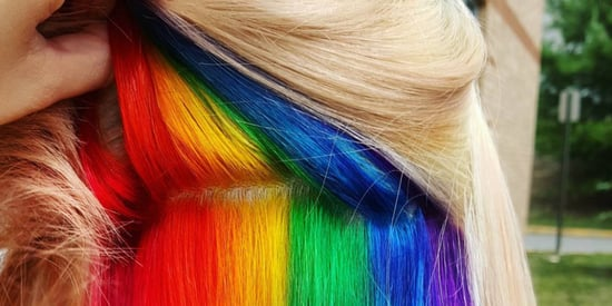 'Hidden Rainbow' Hair Is A Trend You Won't See Coming