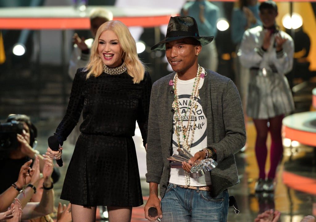 Gwen Stefani Presented the iHeartRadio Innovator Award to Pharrell