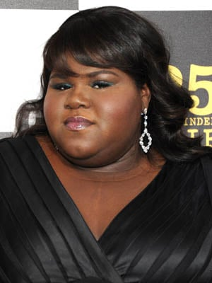 Gabourey Sidibe at 2010 Independent Spirit Awards