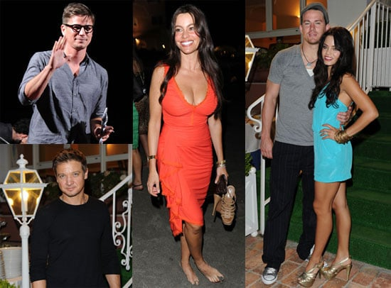 Channing Tatum, Jenna Dewan, Jeremy Renner, Josh Hartnett and Sophia Vergara at Ischia Film and Music Festival 2010-07-13 19:00:15
