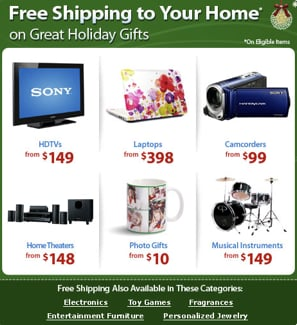 Free Shipping From Walmart Through Dec. 20