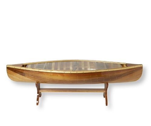 Love It or Hate It? Canoe Coffee Table