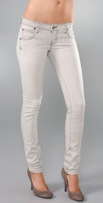 The Look For Less: Kova & T Light Gray Skinny Jeans
