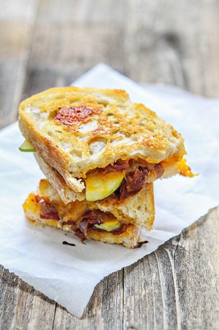 Bacon Apple Cheddar Sandwich