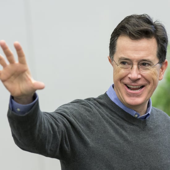 Stephen Colbert Out of Character