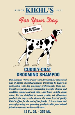 Pet-Present Extravaganza: Kiehl's For Canines