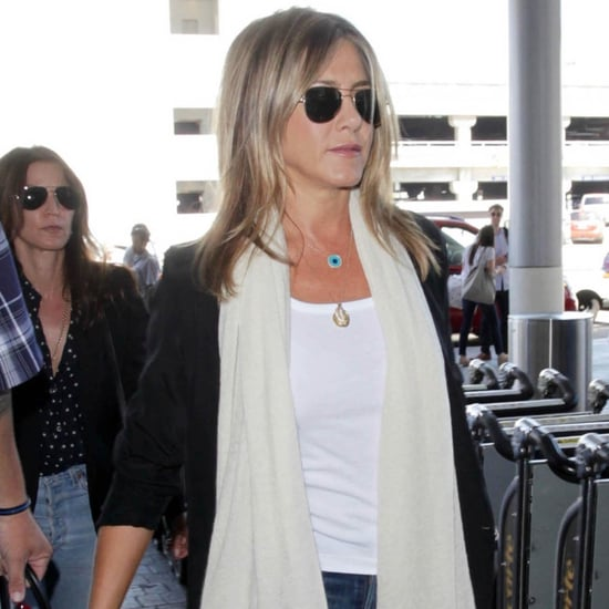 Jennifer Aniston at LAX July 2016