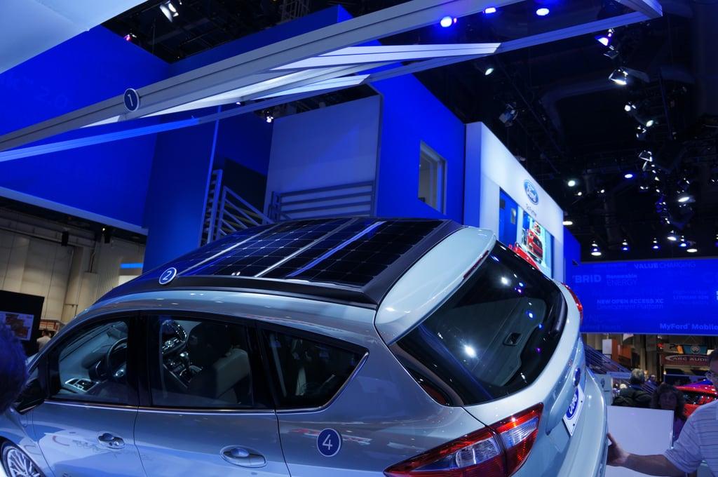 Ford — C-Max Solar Energi Concept Car