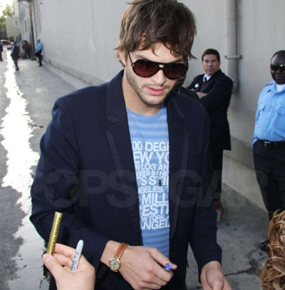 Ashton Kutcher Out in LA
