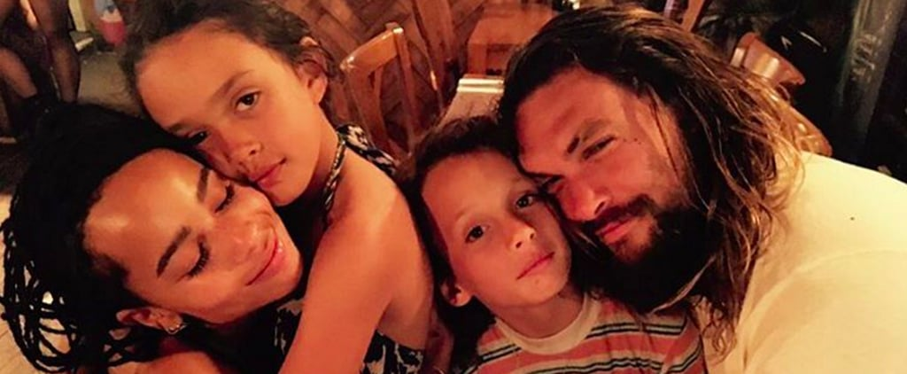 Zoë Kravitz Shares a Loved-Up Family Snap With Jason Momoa and Her Beautiful Half-Siblings