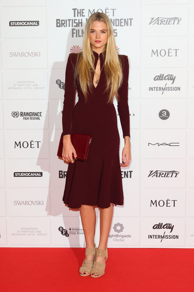 Gabriella Wilde appeared at the BIFAs.