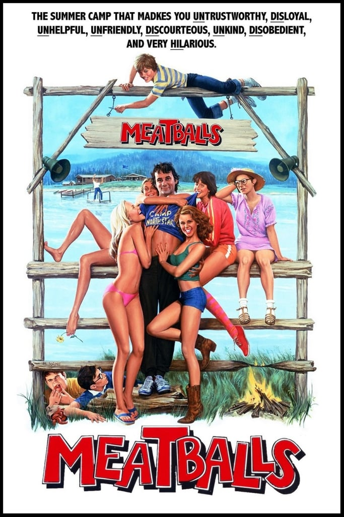 He Wrote the Great Summer-Camp Comedy Meatballs (1979)