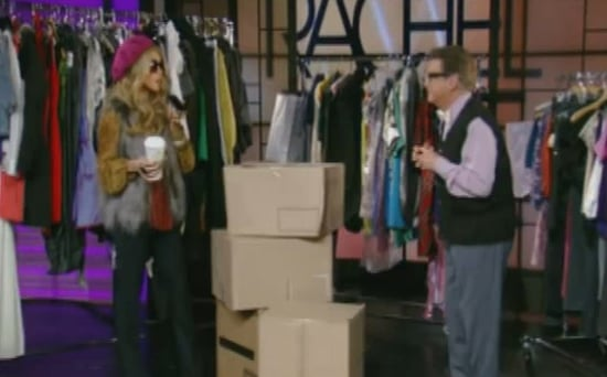 Regis and Kelly Dress Up as Rachel Zoe and Brad Goreski From the Rachel Zoe Project