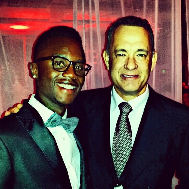 He Chatted It Up With Tom Hanks